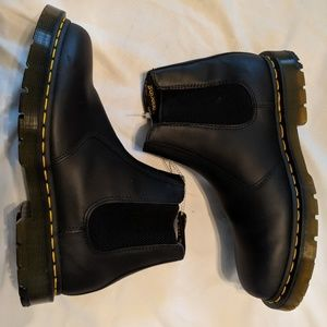 Black Dr. Martens Airwair Chelsea boots